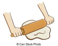Dough Roller Vector Clipart Royalty Free  417 Dough Roller Clip Art