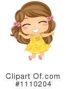 Excited Kid Clipart Royalty Free  Rf  Girl Clipart