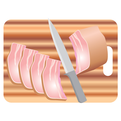 Free Clip Arts  Beef Meat With Cutting Board