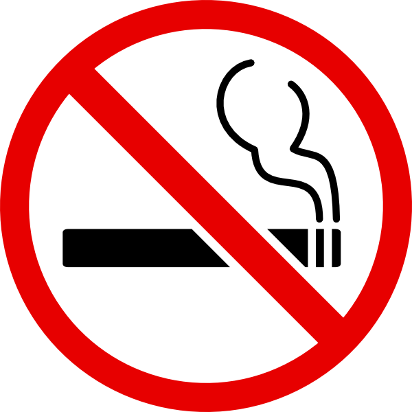 No Smoking Clip Art At Clker Com   Vector Clip Art Online Royalty