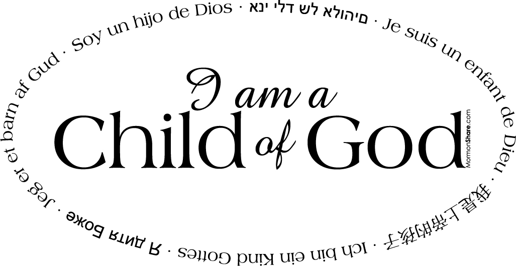 Practicing I Am A Child Of God