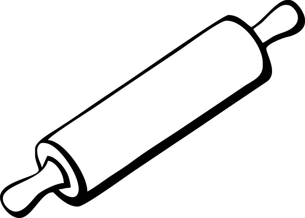 Spatula Clip Art Black and White