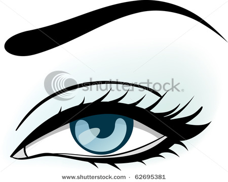 Clip Art Eyes And Eyebrows Clipart - Clipart Suggest