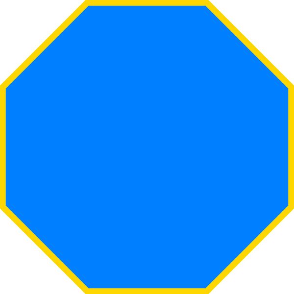 Octagon Clipart - Clipart Kid