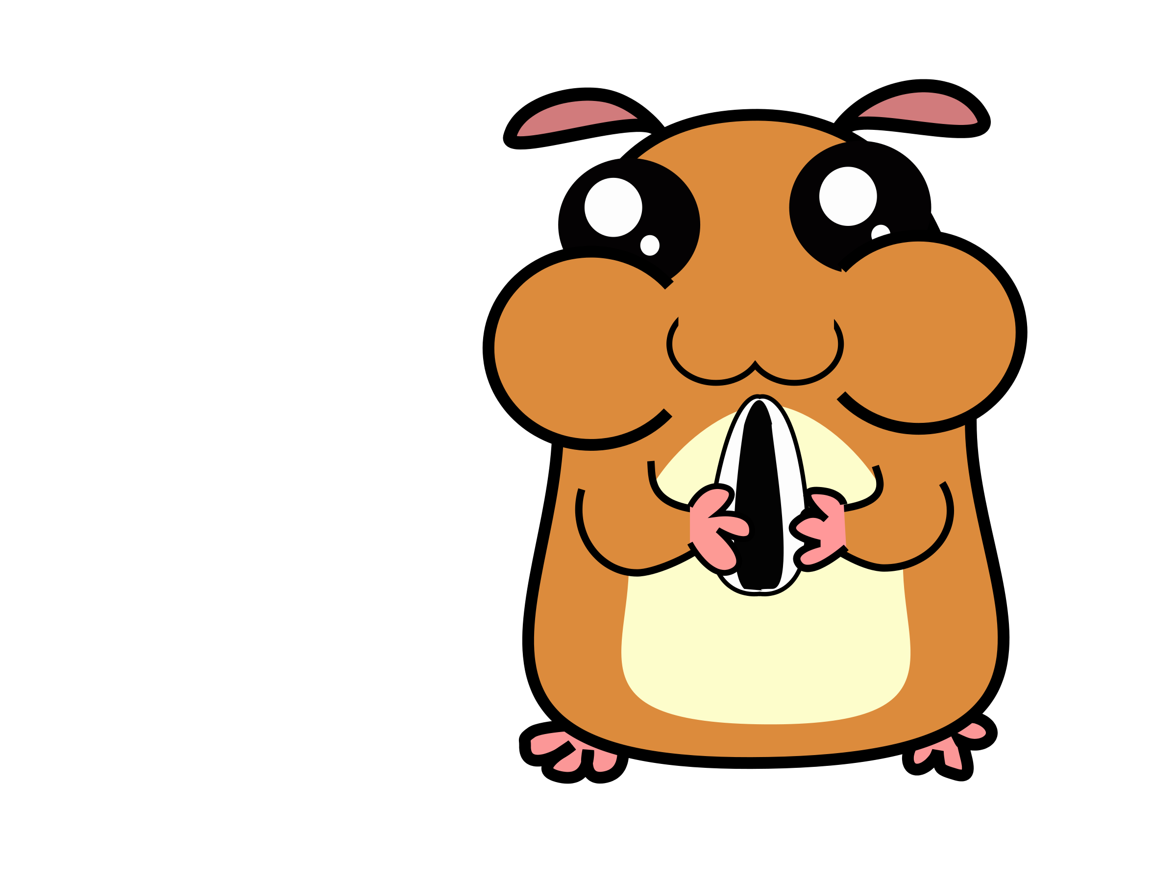 Hamster Clipart - Clipart Suggest Cute Hamster Cartoon