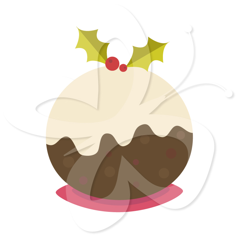 Home   All Clip Art   Christmas Pudding Clipart Set