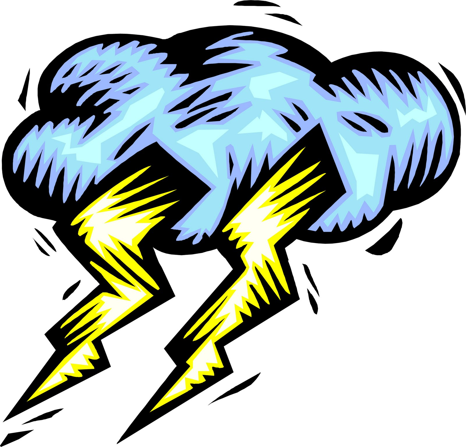 Lightning And Thunder Clipart I Can Hear Thunder Which Means