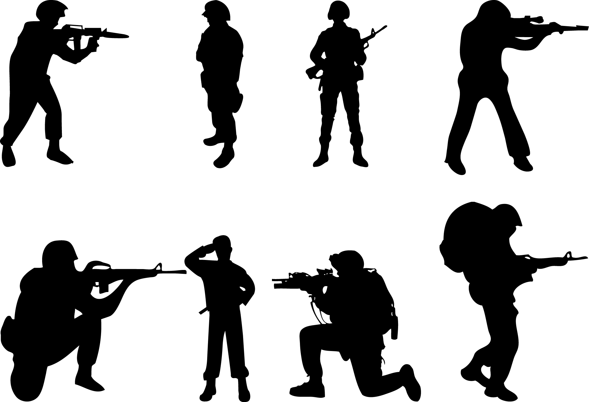 Military Fighting Clipart - Clipart Kid