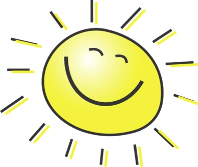 Morning Clipart 5 Free Summer Clipart Illustration Of A Happy Smiling