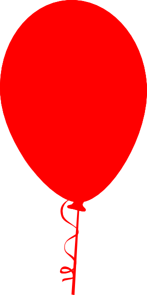 Red Balloon Clip Art At Clker Com   Vector Clip Art Online Royalty