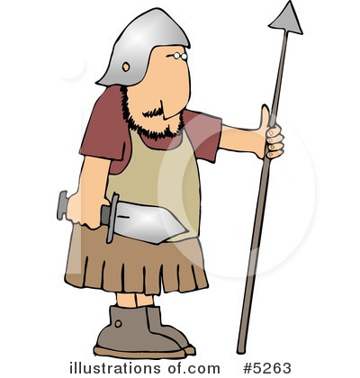 Roman Soldier Abs Clipart