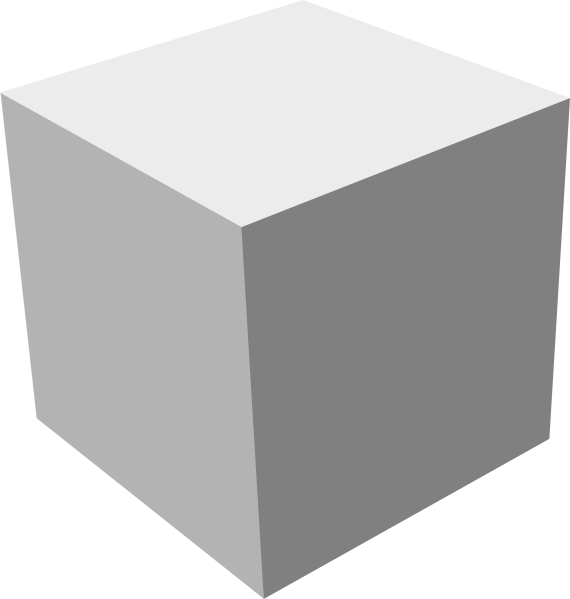 Cube 3d Clipart - Clipart Suggest