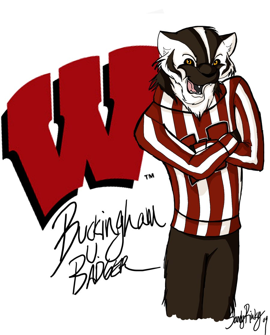Buckingham U  Badger By Sandyrinky On Deviantart