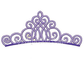 Purple Tiara Clipart - Clipart Kid