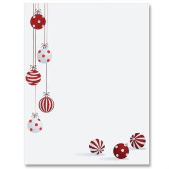 Christmas writing borders
