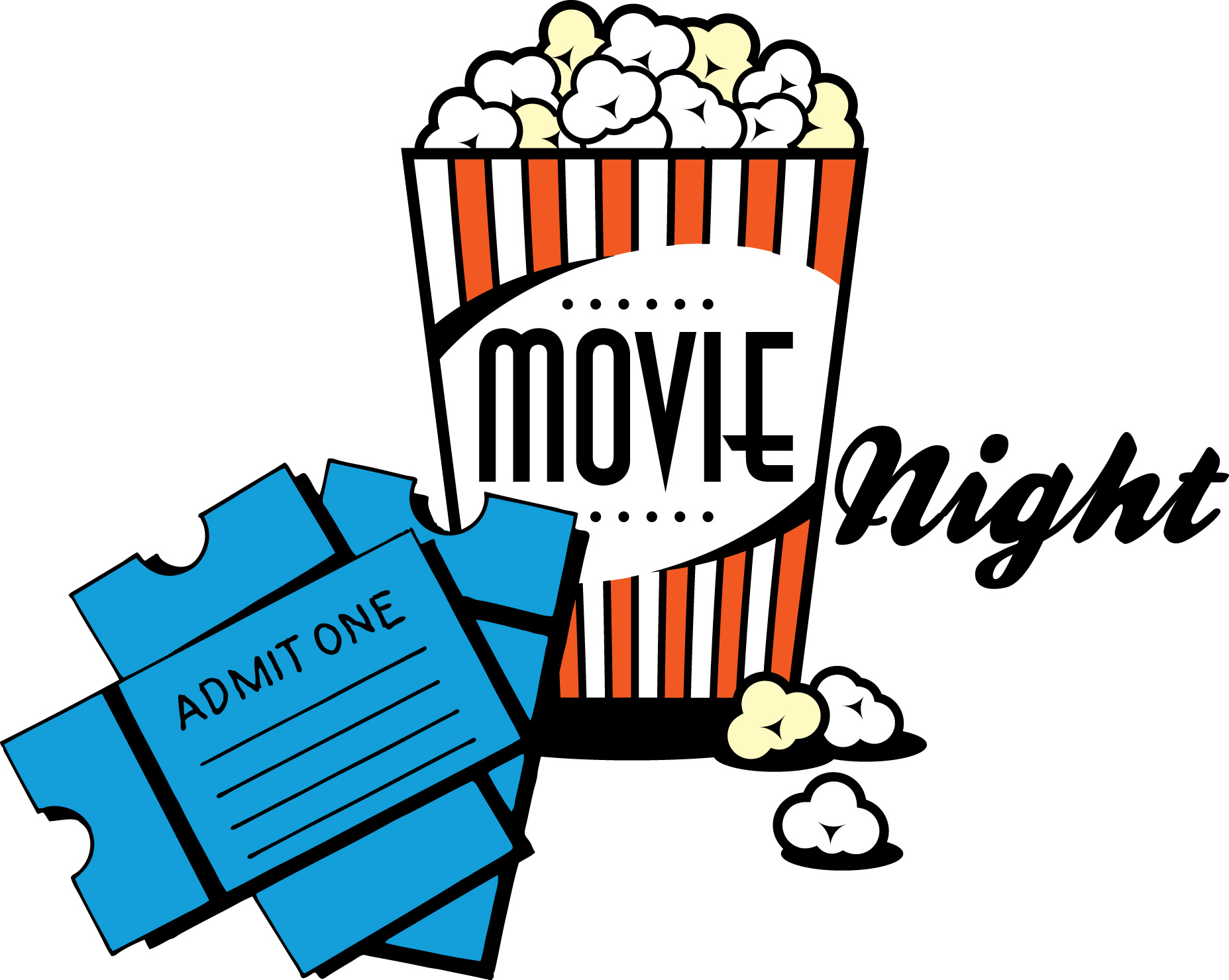 Outdoor Movie Night Clipart   Clipart Panda   Free Clipart Images
