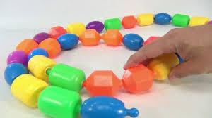 Resurrect Those Old Infant Beads That Snap Together By Using Masking