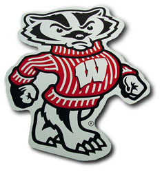 Wisconsin Bucky Badger Logo Car Pictures