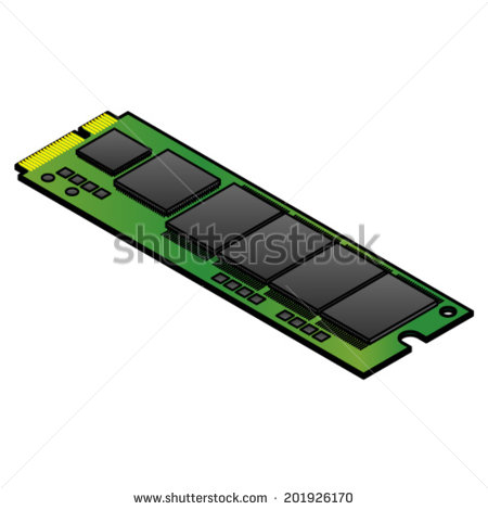 An Msata Solid State Drive  Ssd  For Installing Inside Laptops And