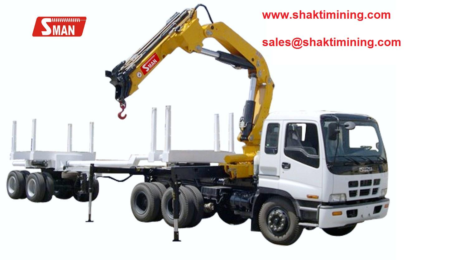 Knuckle Boom Crane Photo Detailed About Truck Mounted Knuckle Boom