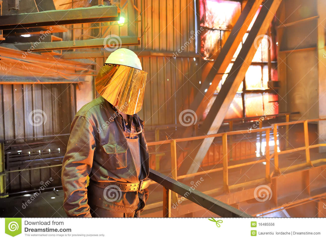 Mill Worker Royalty Free Stock Image   Image  16485556