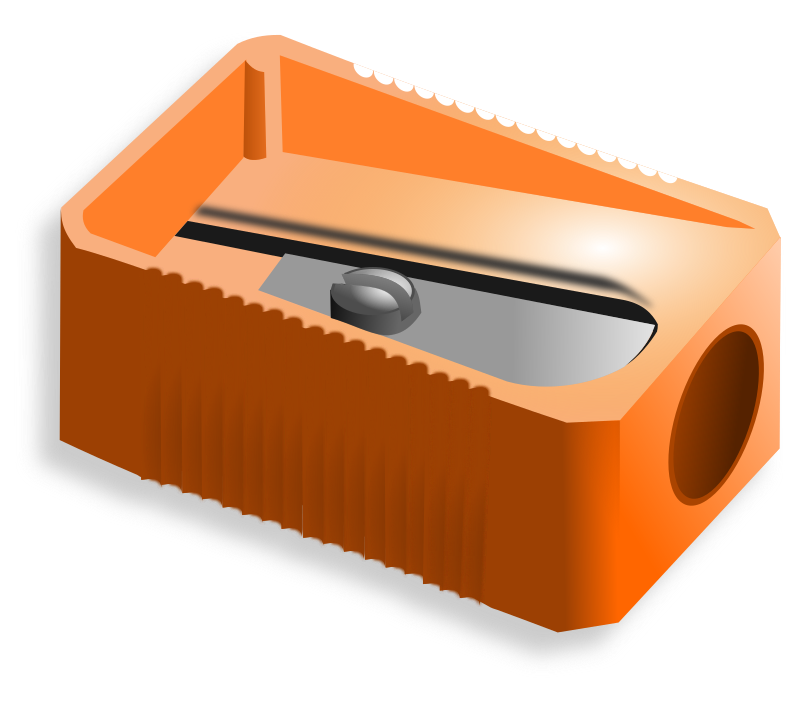 Pencil Sharpener By Hatalar205   A Simple Pencil Sharpener Clipart