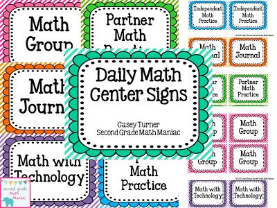 Daily 5 Math