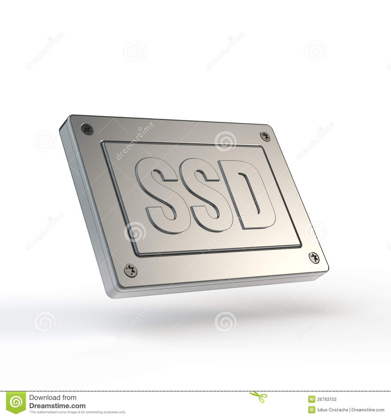 Solid State Drive  Ssd  Stock Photography   Image  26793152