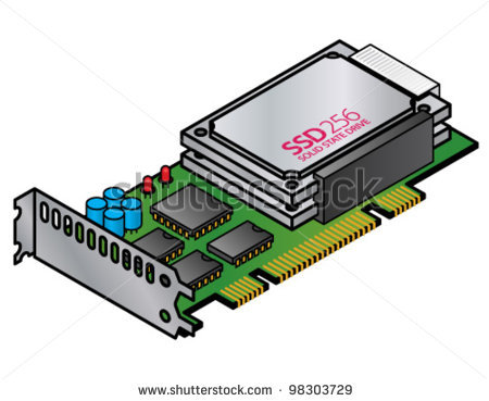 Two Drive Ssd Raid Array On A Single Pc Expansion Card    Stock