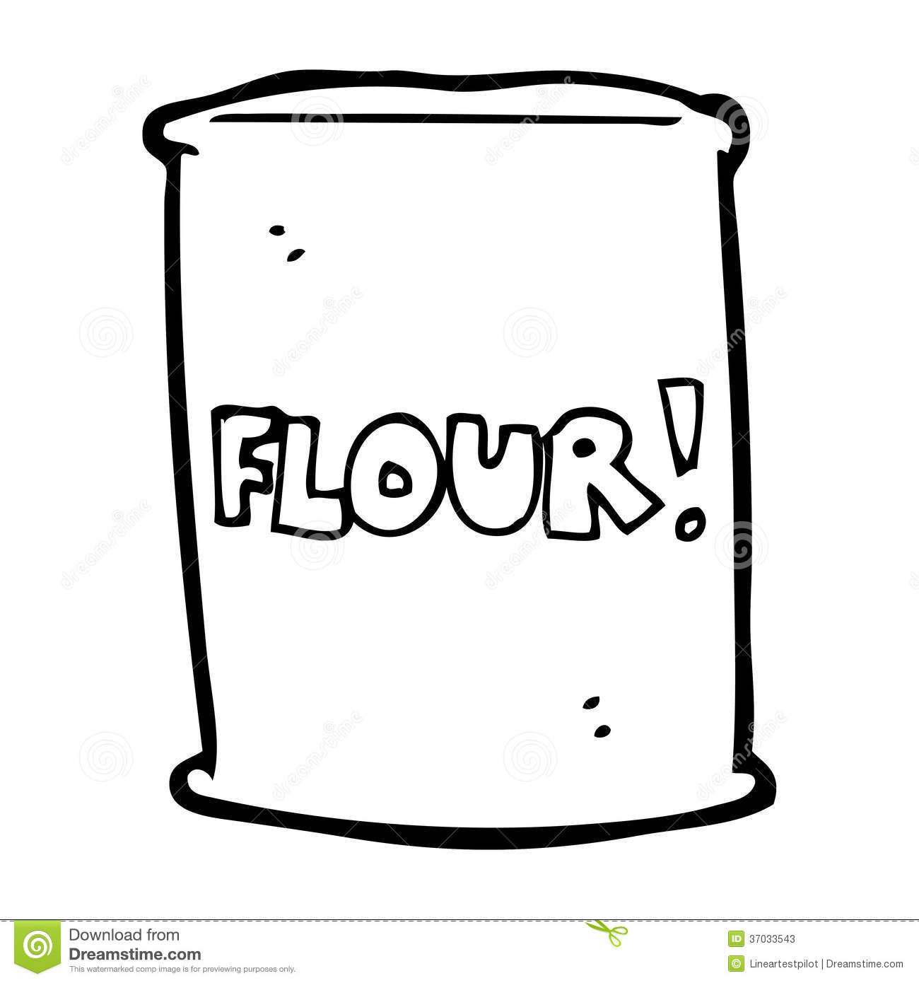 Back   Gallery For   Bag Of Flour And Sugar Clip Art
