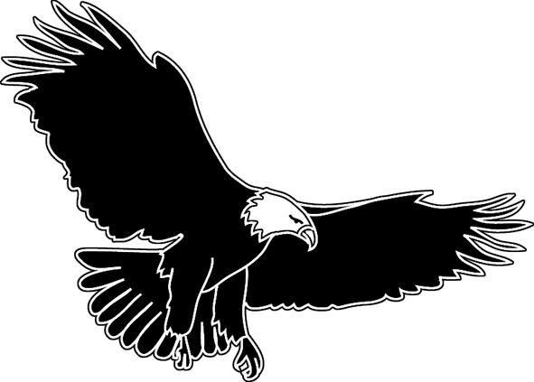 Com Flying Flying Eagle Silhouette Clipart Clip Art Htm