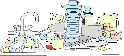 Dirty Dishes Clip Art Picture