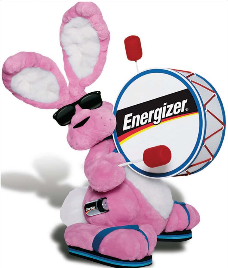 Energizer Bunny Commercial For Pinterest