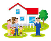 Family House Clipart - Clipart Kid