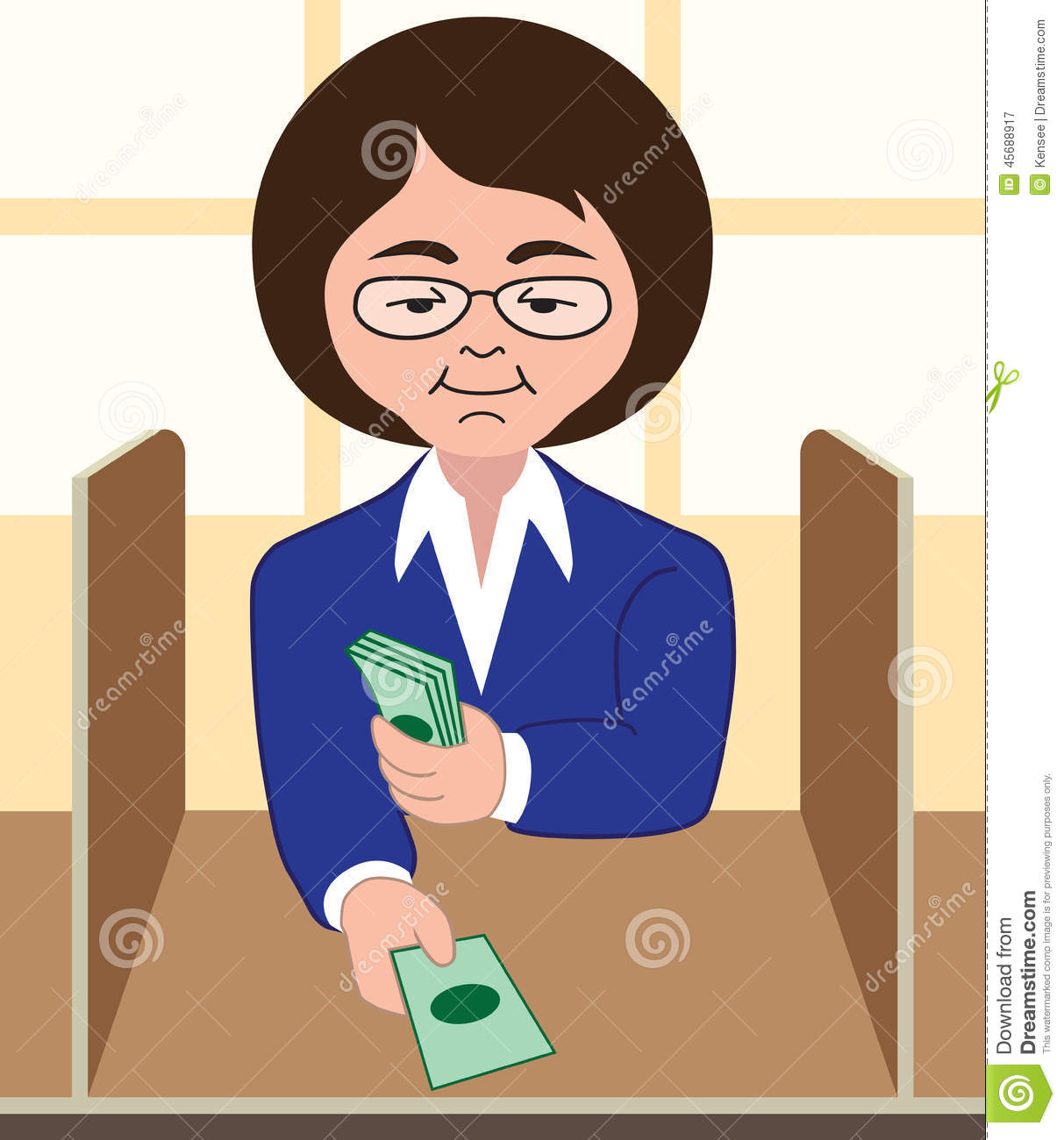 clipart bank teller - photo #10
