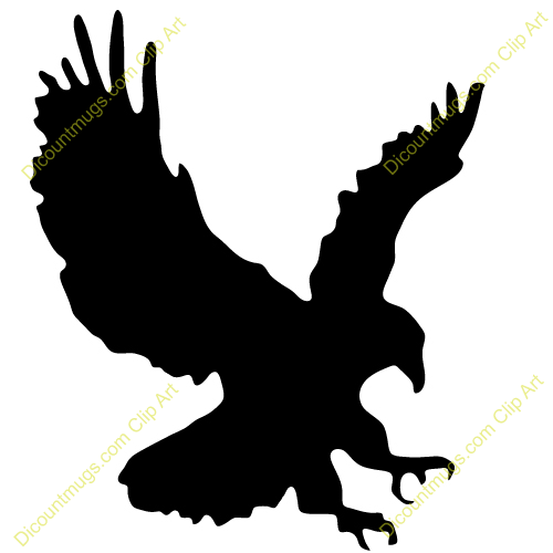 Flying Eagle Clipart - Clipart Kid