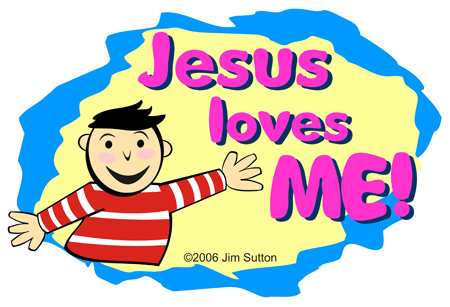 Jesus Loves Me Clipart - Clipart Kid