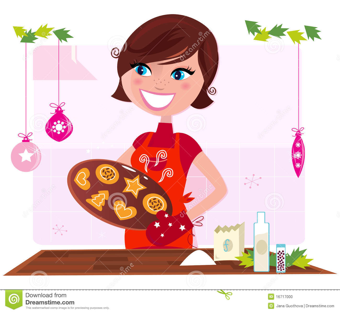 Baking Funny Clipart - Clipart Suggest