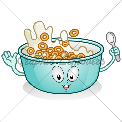 Bowl Of Milk Clipart - Clipart Kid