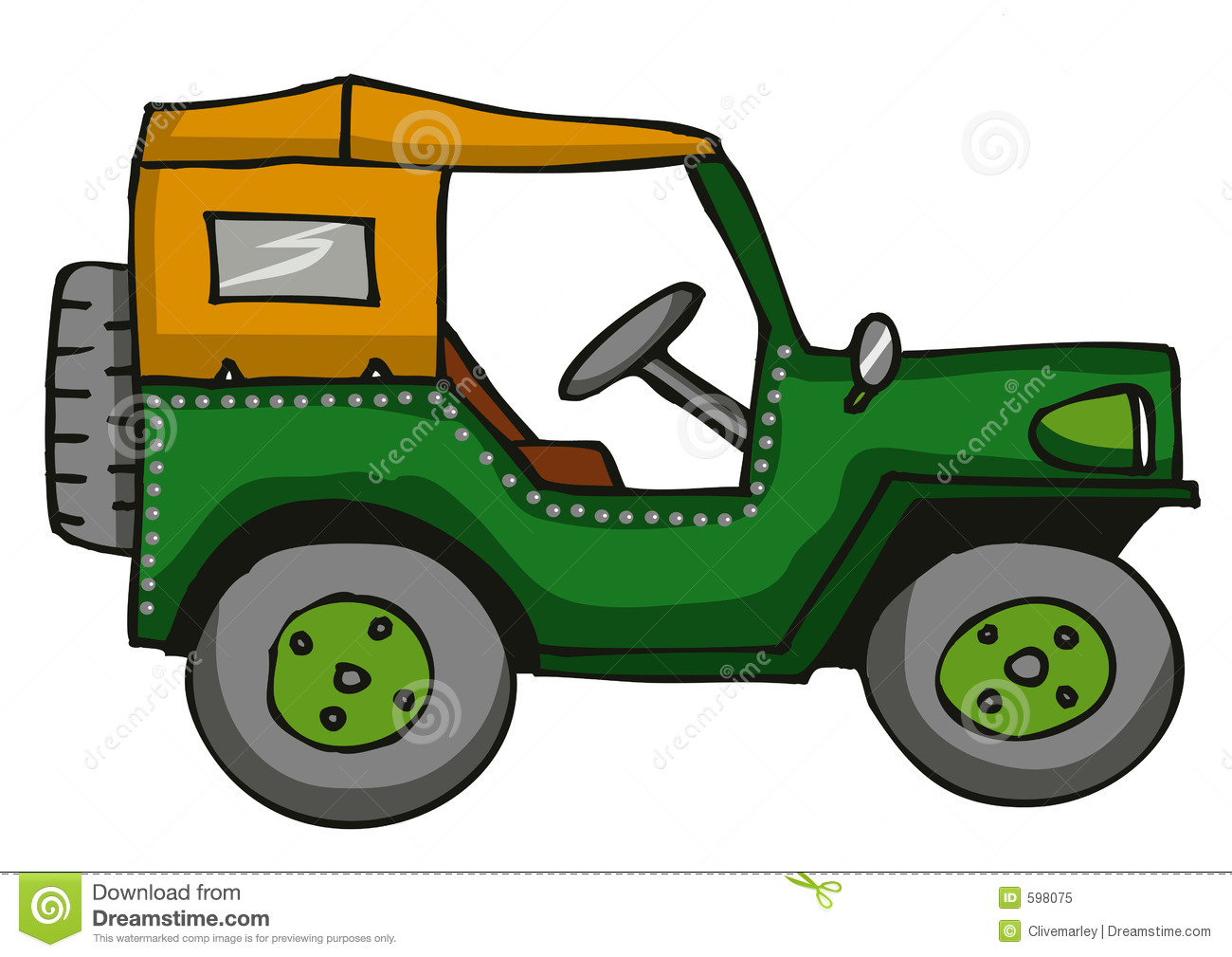 Jeep Royalty Free Stock Photo   Image  598075