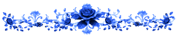 Line Flower Roses Blue   Free Images At Clker Com   Vector Clip Art