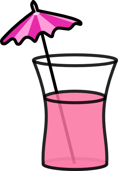 Clip Art Drink Clip Art drink umbrella clipart kid pink cocktail clip art at clker com vector online royalty