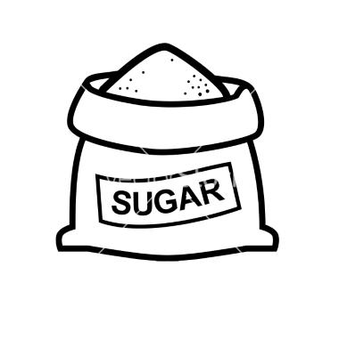 Sugar Bag Clipart Sugar Bag Vector