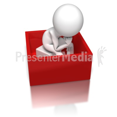 Thinking Inside The Box   Signs And Symbols   Great Clipart For