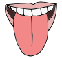Tongue Taste Clipart Tongue Out Picture