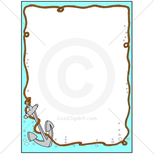 Coolclipart Com   Clip Art For  Borders Nautical Anchor   Image Id