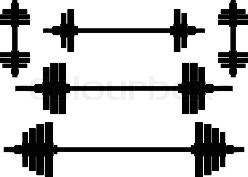 Bent Barbell Clipart - Clipart Kid Quail Black And White Clipart