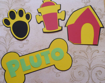 Diy Mickey Mouse Pluto Dog Bone Hou Se Paw Fire Hydrant Make Your Own