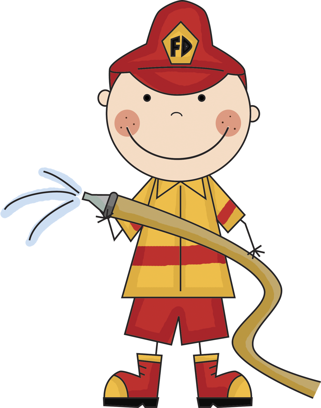 Firefighter Clipart - Clipart Suggest