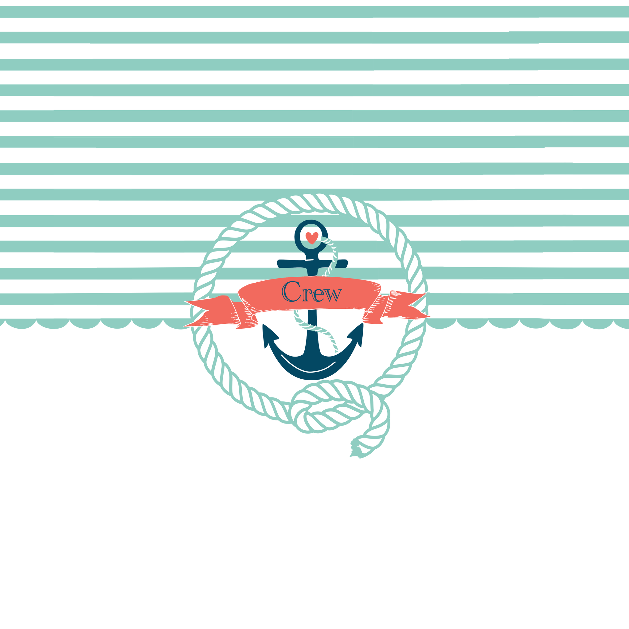 Rectangle Rope Border Cute Anchor Clip Art Nautical Rope Border